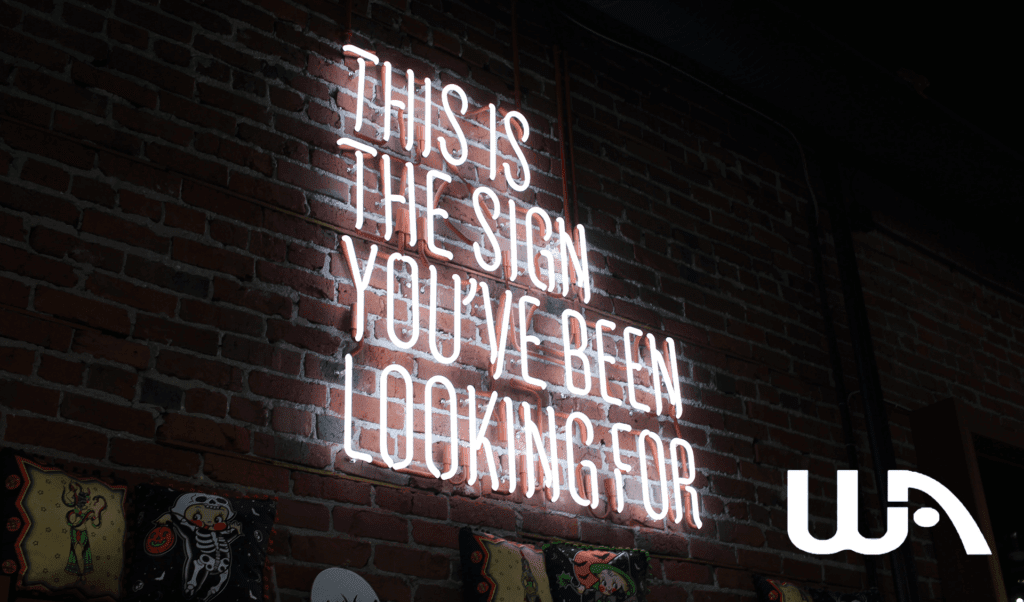 Banner - This is the sign you've been looking for
