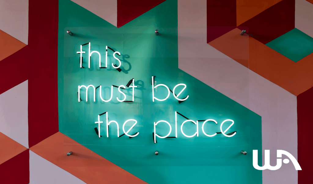 Banner - This must be the place