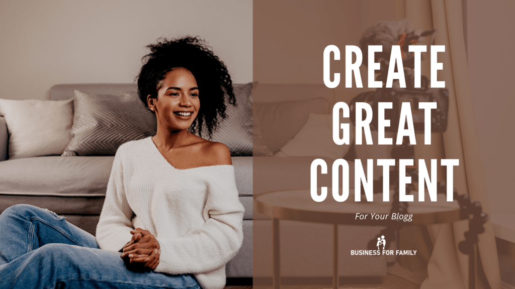 Article Featured Image - How to create great content