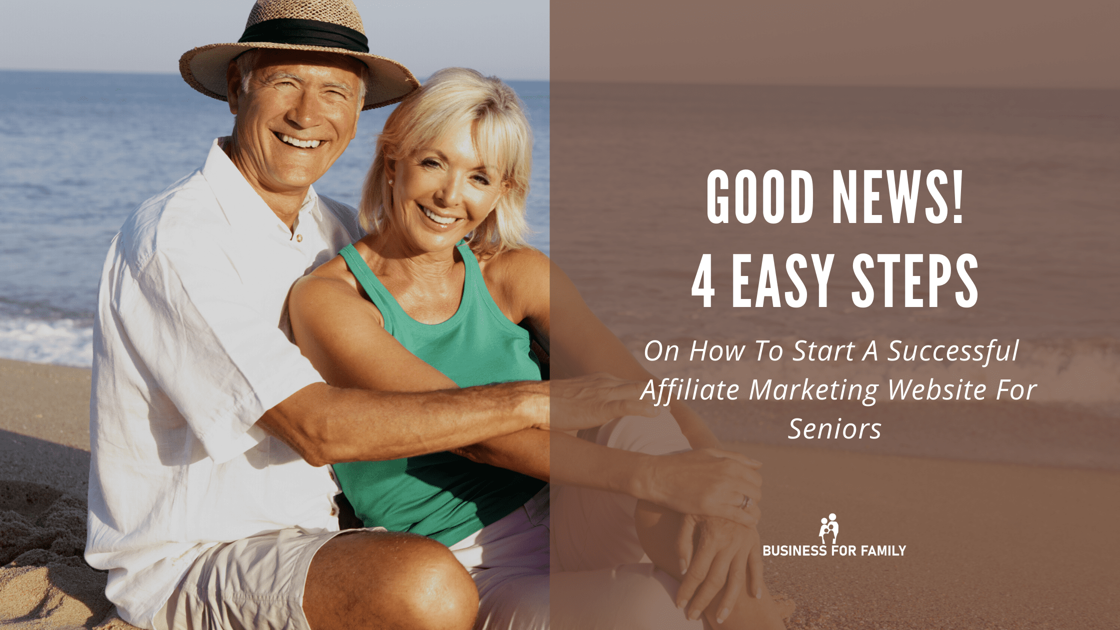Affiliate Marketing For Seniors - A business Opportunity That You Can Not Ignore